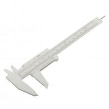 Calibre de mesure jetable pour sourcils et aréoles