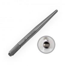 MiaOpera MicroBlading Stainless Steel Holder Pen - Eccentric