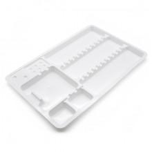 PLATEAU SIMPLE EN PLASTIQUE 18x28cm 10 unités