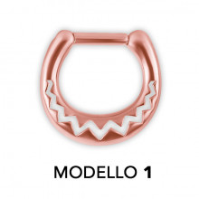SEPTUM CLICKERS MOTIF AFRICAIN RG 316