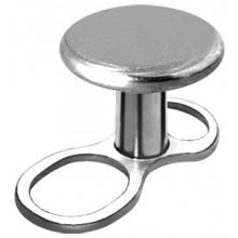 MINI BASE MICRODERMALE EN TITANE AVEC DISQUE 3mm